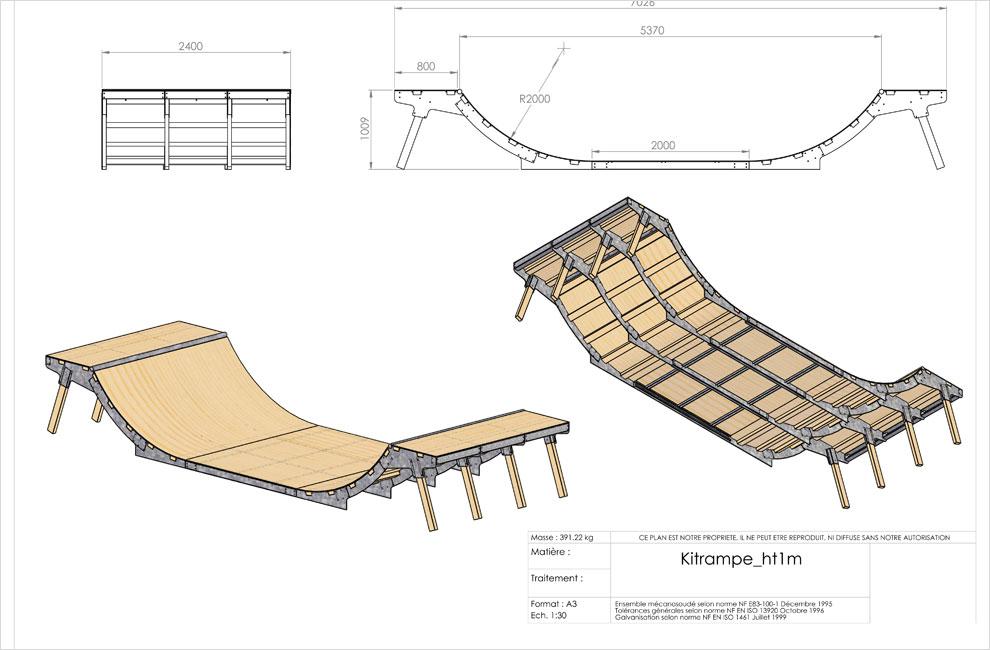 tremplin skate. Black Bedroom Furniture Sets. Home Design Ideas